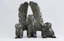 Owl Family – SOLD
