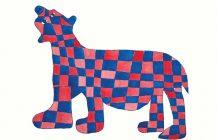 Checkered Bear